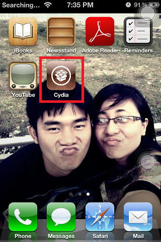 Cydia On iPhone 4s